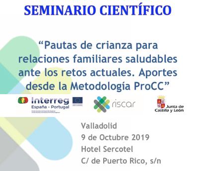 IMG Seminario RISCAR Valladolid 7, 8 y 9 Octubre 2019