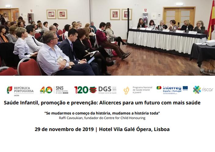 IMG V Seminário Científico Saúde Infantil. Lisboa 29 de Noviembre de 2019