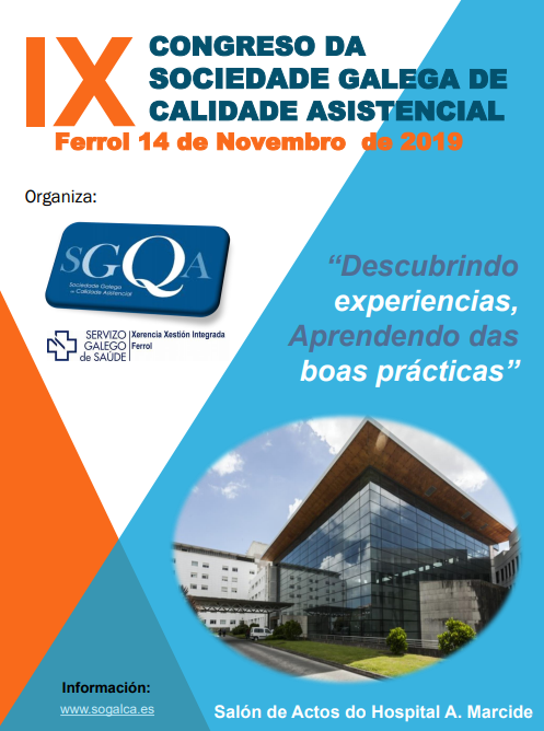 IMG RISCAR en el IX Congreso da Sociedade Galega de Calidade Asistencial